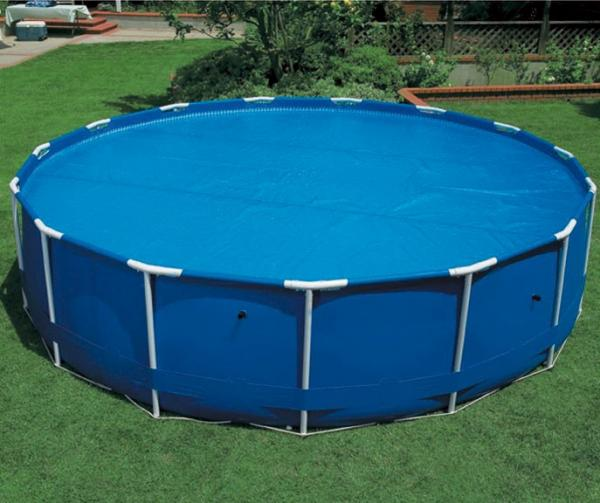 Bache a bulle piscine ronde couverture intex ebay for Piscine gonflable auchan